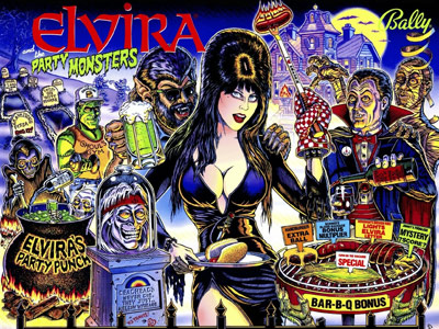 Elvira & the Party Monsters